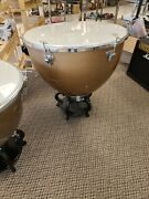 Very Large 30 Diameter Copper Kettle Drum Vintage Ludwig In Good Condition