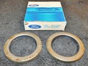 1957-1972 Ford F100 F250 P350 P500 F600 B600 Nos Front Wheel Grease Retainers