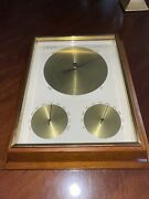 Mid Century Modern Airguide Barometer Thermometer And Humidity Gauge Mcm Wall