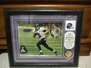 Highland Mint Joe Flacco Baltimore Ravens Gold Coin And Photo Picture 0083/5000