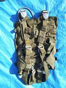 Military Parachute Harness And Container