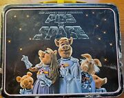 Thermos Brand The Muppet Show Presents Pigs In Space Vintage Lunch Box