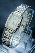 Ebel Vintage Elegant Lady's Watch Mother Of Pearl Real Diamonds Top Condition