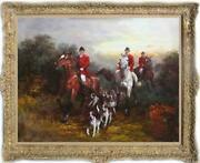 Old Master-art Antique Oil Painting Portrait Aga Hunting Dog On Canvas 30x40