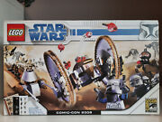 Lego Star Wars Comic Con 2008 Sdcc Clone Wars Pack. Brand New. Unopened.