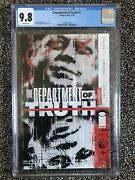 Department Of Truth 1 Cgc 9.8 Main Cover A Showcase Image Comics 9/20 Optioned