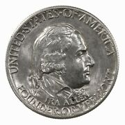Raw 1927 Vermont 50c Uncertified Ungraded Us Silver Half Dollar Coin