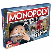 Hsbe9972 Hasbro Monopoly For Sore Losers