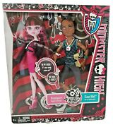 Monster High Music Festival Draculaura And Clawd Wolf