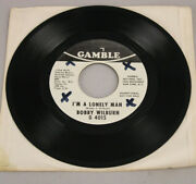 Rare Crossover Soul Promo Only 7 Bobby Wilburn Iand039m A Lonely Man 45 Vinyl Ex