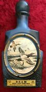 Jim Beam Kentucky Straight Bourbon Whiskey Vintage Duck Collectable Blue No-alc