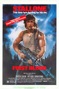 First Blood Movie Poster Original 27x41 Sylvester Stallone Is Rambo Video 1980s