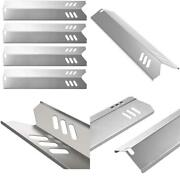 Gas Grill Heat Shield Plate Burner Cover Replacement Parts For Dyna-glo Backyard