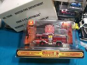 Code 3 Collectibles Boston Fire Emergency One E-one Cyclone Pumper Engine 24