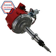 New Distributor Fits Chevy Gm 250 292 230 Hei Cap Complete 6 Cyl Inline