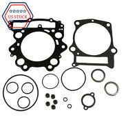Top End Head Gasket Rebuild Kit Fits Yamaha 04-2007 Rhino 660and 02-08 Grizzly 660