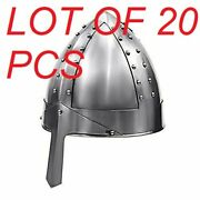 Medieval Armor Norman Nasal Helmet Wearable One Size Fits All