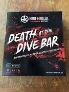 Hunt A Killer - Death At The Dive Bar Murder Mystery Great Used Condition