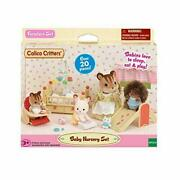 Calico Critters Baby Nursery Furniture Play Set Tiny Animals Toy Collectible New
