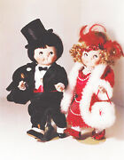 Antique Reproduction 10in Googly Campbell Soup Kidand039s Dolls Patricia Loveless New