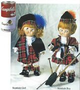 Antique Reproduction Googly Campbell Soup Kidand039s Scottish Dolls Patricia Loveless