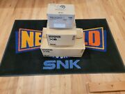 Vintage Original Neo Geo Aes And Cd Cardboard Shipping Boxes