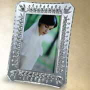 Waterford Crystal Lismore 4 X 6 Diamond And Wedge Cut Photo Frame New