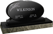 Cemetery Granite Headstone 36 X 6 X 24 Includes Engraving Free Shipping