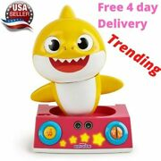Pinkfong Baby Shark Official By Wowwee - Baby Shark Dancing Dj Toy Yellow Kids