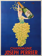 Perrier Champagne By Stall Aperitive Old Poster Of 1927