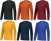Russell Athletic 631x2m Dri-power Performance Long Sleeves Polyester T-shirt