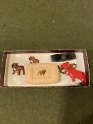 5 Piece Vintage Collectable Mack Truck Gift Set Knife, Soap, Keychain And Patches