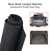 Bass Boat Marine Carpet Upholstery Floor Trunk Liner Grey Cover Replace 54x78