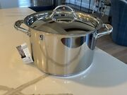 Ruffoni Stainless Steel Copper Soup Pot 6 Qt. Made In Italy
