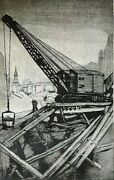 8 Anthony Pugliese Depression Era Etchings Of Nyc As Part Of Nyu And039s Album 1929