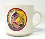 Boy Scout Ten Mile River Scout Camps Greater New York Council Coffee Mug Cup