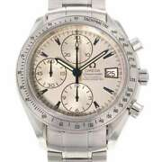 Free Shipping Pre-owned Omega Speedmaster Date 3211.32.00 Japan Limited