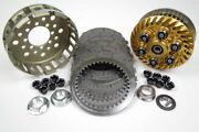 Ducati Kbike Adjustable Gold Slipper Clutch With Discs And Clutch Basket New