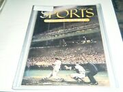 1st Issue Sports Illustrated August 16 1954 Willie Mays Ted Williams 18 Cards