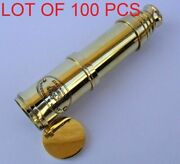 Description This Traditional Brass Telescope Is Ideal To Grace The Library Cons