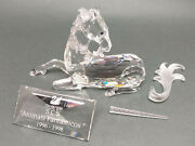 Crystal 1996 Annual Edition Unicorn + Fabulous Creatures Series Plate