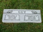 Cemetery Granite Bevel Headstone 36 X 12 X 6 Includes Engraving Free Shipping
