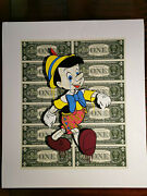 Ben Allen - Monster Pinocchio 3d Construction Hand Signed Edition Of 50 Banksy