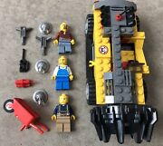 Lego City The Mine 4204 Driller Car Boring Miners Gold Mine Minifigures
