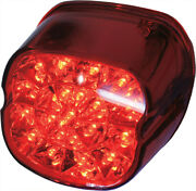 Laydown Taillight Red Lens Downward Plate Lens Harley Ultra Limited Low 2016-19