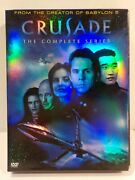 N  Crusade Dvd Box Set The Complete Series 4 Disc 13 Episode Run Collection