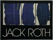 Jack Roth Recent Paintings March 21-may 9, 1982
