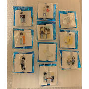 Banana Fish Cafe Bar Limited Badge 10 Complete Set