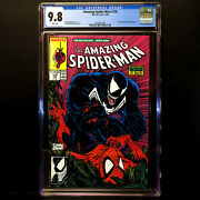 Amazing Spider-man 316 🔥 1st Venom Cover Appearance 🔥 Cgc 9.8 - White Pages