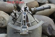 Antique 8 Marine Antique Navigational Astrolabe Instrument Brass Sextant Gifted